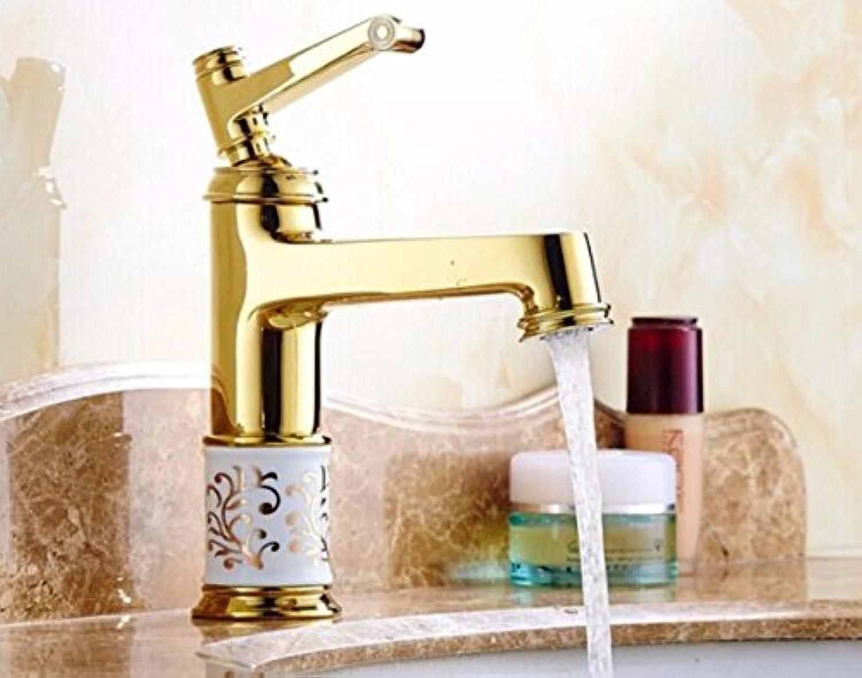 Makej Bathroom Basin Faucet Deck Mounted Bath Mixers Laboratory Mixer Lavatory Faucet Hot and Cold Crane Sink Faucet