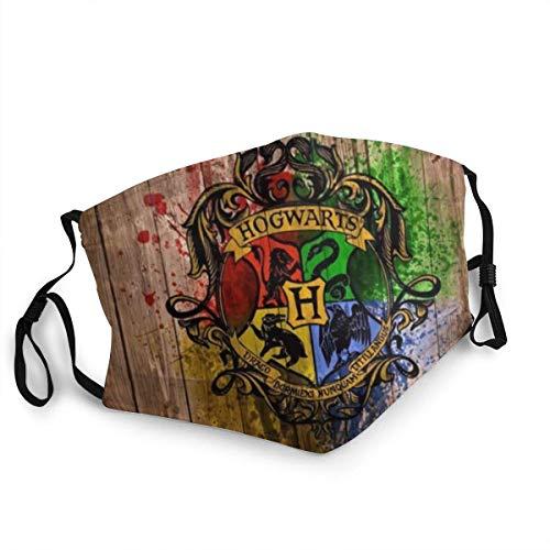 KINGAM Máscara unisex de Harry Potter, lavable y reutilizable, resistente al sol y al polvo, para montar al aire libre, pesca, esquí