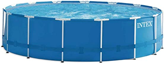 Intex 28236 - Piscina desmontable, montura metal, 457X122cm - 16.805 L