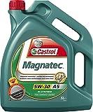 5 litro Castrol Magnatec 5W-30 A5 olio motore; specifico: ACEA A1/B1, A5/B5; API SN/CF; ILSAC GF-4; Meets WSS-M2C913-A/WSS-M2C913-B/WSS-M2C913-C/WSS-M2C913-D