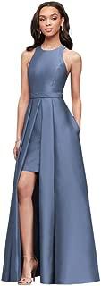 Mikado Bridesmaids Walkthrough Ball Gown Bridesmaid Dress...