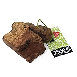 These are a natural, wood, dog chew / toy, harvested by hand from the tree root systems. Xsmall,Small & Medium Available These trees grow in the warmer countries of Europe, and are unharmed by the harvesting as the root bulb grows back. The actual ty...