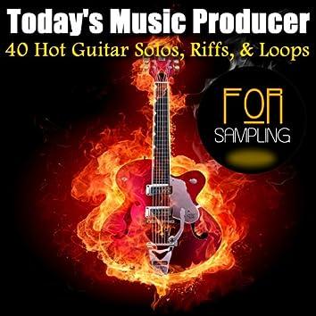 40 Hot Guitar Solos, Riffs, & Loops for Sampling