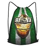 Elc-He Printed Sports Bag Gym Bag Travel Bag Shoe Bag Backpack Shopping Bag Drawstring