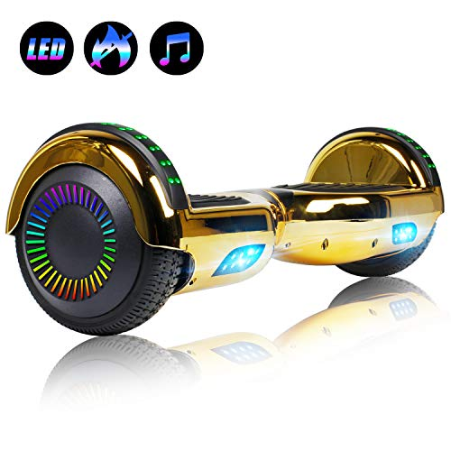 Best Deals! Felimoda 6.5 inch Hoverboard Electric Smart Self Balancing Scooter w/Built-in Wireless ...