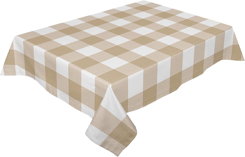wanxinfu Rectangular Printed Tablecloth - x Rustic Geom 120