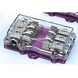 ボスオーディオdfb3ヒューズブロックBoss分配、3ヒューズ、電気製品