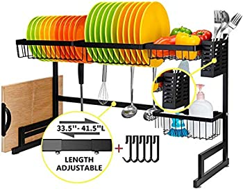 Adbiu Over-Sink Dish Drying Rack
