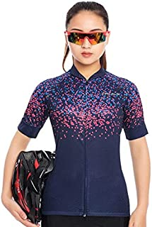 BEESCLOVER ! Short Sleeve Cycling Clothing Women's Bike Jersey Wear Female Triathlon Maillot Women Summer Bicycle Clothes Top