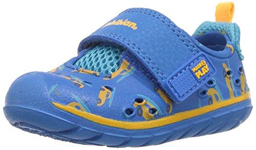 Stride Rite Boys' M2P Phibian Baby Sandal, Blue, 6 Medium US Toddler