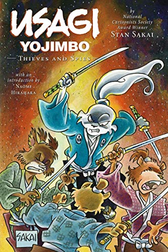 Usagi Yojimbo Volume 30: Thieves and Spies Ltd. Ed.