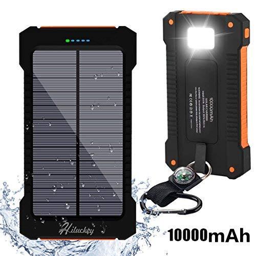 Cargador Solar 10000mAh, Hiluckey...