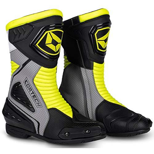 Cortech Apex RR Air Men's Street Motorcycle Boots - Hi-Viz / 8.5