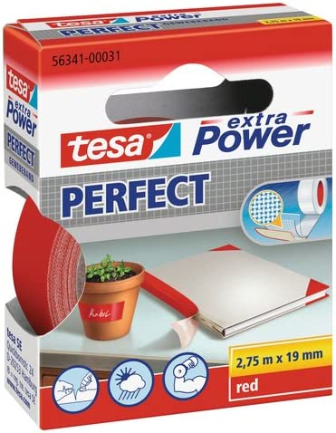 Popular Tesa Extra Cheap sale Power Fabric 5634100031023 4Wide 2.75m–Red Tape