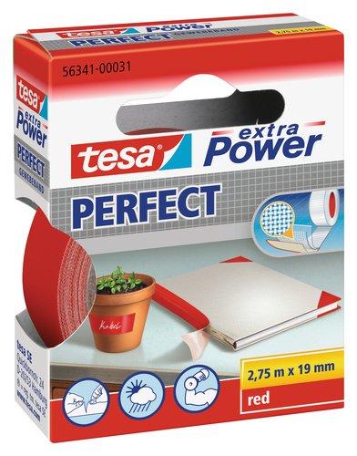Tesa extra Power Gewebeband 19mm x 2,75m rot