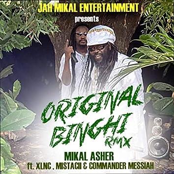 Original Binghi (Remix) [feat. XLNC, Commander Messiah & Mistacii]