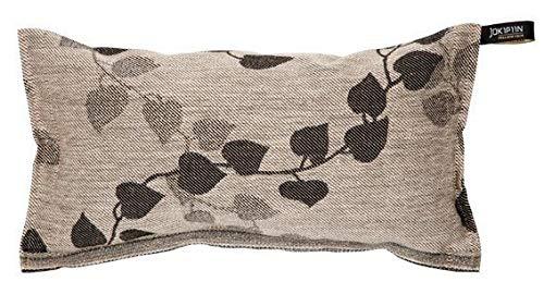 JOKIPIIN Sauna Kissen aus Leinen TUULI natur/schwarz made in Finland