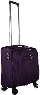 YCYHMYF Oxford Cloth wear-Resistant Lightweight Boarding Trolley Travel Suitcase (Purple 18 inch)