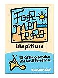 DONSOUVENIR IMAN Formentera. Modelo: Logo. MAGNETICO