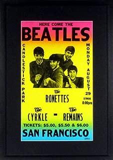 Best beatles concert posters Reviews