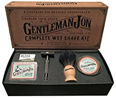 THE ORIGINAL SHAVE KIT, DON'T FALL FOR CHEAP IMITATIONS!   Get everything you need to start shaving correctly, in one spot, of the highest quality, for one price. Upgrade Your Shave   Shaving is a ritual, not a chore and it's time to grow up. Toss th...