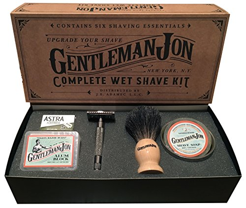 Gift ideas for your boyfriend's 30th birthday that helps him achieve a close shave.