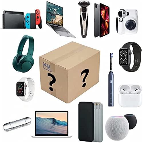 WCCCY Boîte de mystère électronique, Boîtes mystérieuses chanceuses électroniques numériques Il y a Une Chance d'ouvrir: téléphone Portable, caméras, Drones, gamepads, projecteur Plus de Cadeau