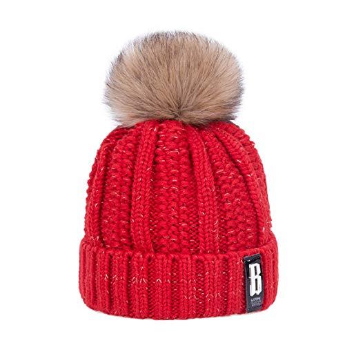 Muts mode vrouwen winter hoed merk knit warm hoed scullies mutsen vrouwelijke modellen pompon zacht en comfortabel dikke petten
