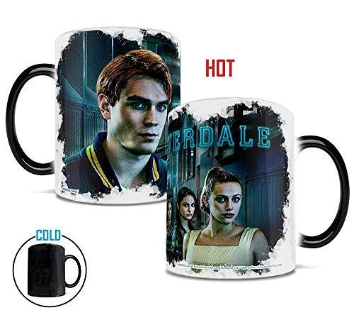 Riverdale – Secrets within the Halls – Archie – Betty – Jughead – Veronica – Morphing Mugs – Hitzeempfindliche Tasse – Keramik mit Farbwechsel – von Trend Setters Ltd.