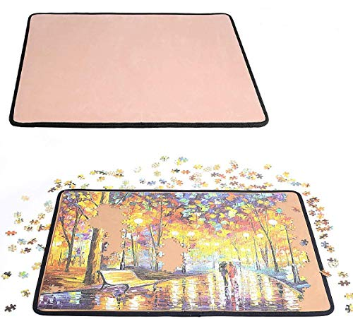 Jigsaw Puzzle Board Puzzle Mat for up to 1,000 Pieces Durable jigboard