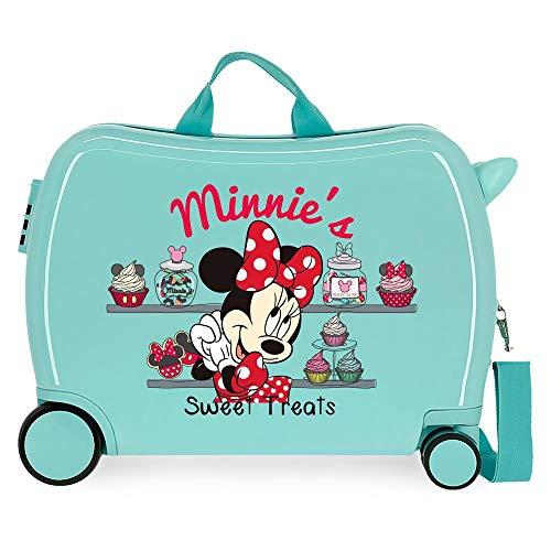 Disney Mickey That´S Easy Maleta Infantil Verde 50x38x20 cms Rígida ABS Cierre de combinación Lateral 34L 3 kgs 2 Equipaje de Mano