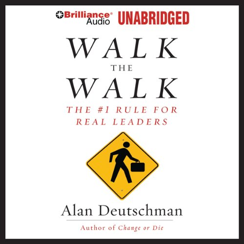 Walk the Walk audiobook cover art