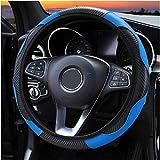 XIAOBAOBEI Housse de Volant en Cuir de Voiture pour Toyota Auris Avensis Prius chr Aqua Aygo Corolla Verso Land Cruiser Prado Hilux