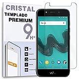 REY Protector de Pantalla para WIKO WIM Lite, Cristal Vidrio Templado Premium