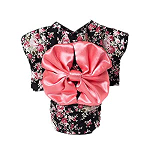 WeeH Dog Costume Halloween Cat Clothing Cosplay Japan Kimono Pet Clothes for Doggy Kitty Rabbits Pig Fun