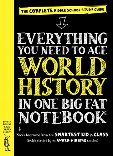 EVERYTHING YOU NEED TO ACE WOR: The Complete Middle School Study Guide (Big Fat Notebooks)