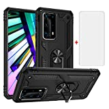 Phone Case for Huawei P40 Pro with Tempered Glass Screen