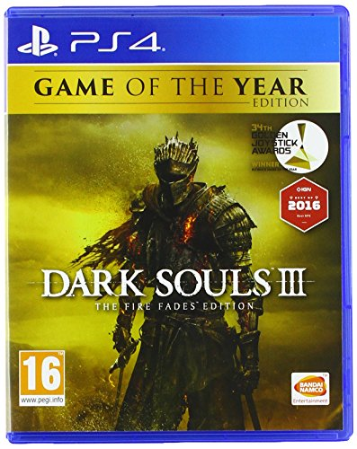 Jeu Dark Souls III (3) édition Goty - Pour PS4