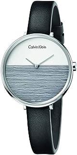 كالفن كلاين للنساء - انالوج بسوار جلدي - K7a231C3