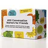 Conversation Starters for Friends – 400 Fun, Thought Provoking Questions to Get to Know Your Friends Better
