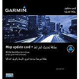 Garmin Oriente Próximo y Norte de África - Mapas para navegadores GPS Garmin (MicroSD/SD)