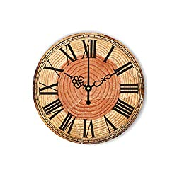 Wall Clock Wall Clock Modern Home Decoration 3D Wall Decor Clocks Living Room Decor Silent Wall Clock,Style 22,16 Inch