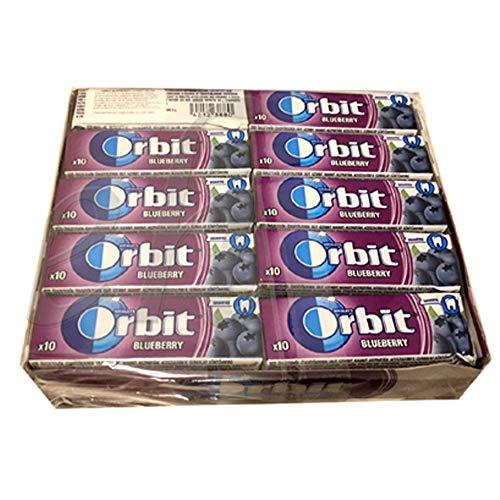 Orbit Dragee Single 14g, Blueberry 30 x 14 g