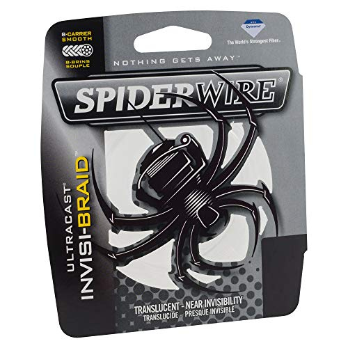 Spiderwire SCUC30IB-125 Ultracast Invisi-Braid, 125-Yard/30-Pound, Translucent