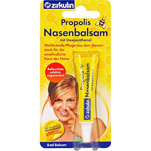 ZIRKULIN Propolis Nasenbalsam 5 ml Balsam