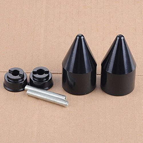 qinjun Tapa de mango negro para Honda Cbr 250 600Rr 600 900R