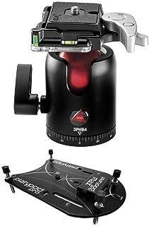 platypod Maxプレートカメラサポート–with 3pod b4Bシリーズシングルレバー旅行ボールヘッド