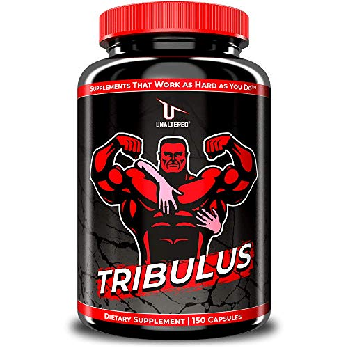 UNALTERED Tribulus for Men to Last Longer - Fully Dosed Nitric Oxide Booster, Blood Flow Optimizer, Muscle Builder, & Natural Energy Enhancing Supplement for Males - 150 Capsules