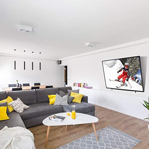 Support Mural TV Inclinable pour LED, LCD, OLED, TV à Écran Plat de 26 à 55 Pouces