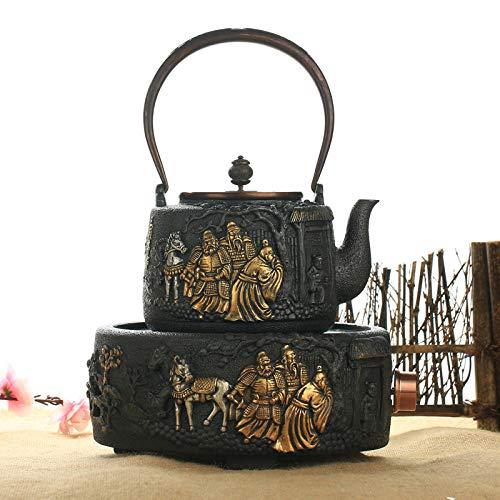 Cast Iron Teapots Japanese-Style Cast Iron Teapot Handmade Iron Kettle Electric Ceramic Stove Set